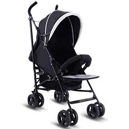 Costzon Baby Stroller, Foldable Pushchair with 5-Point Safet