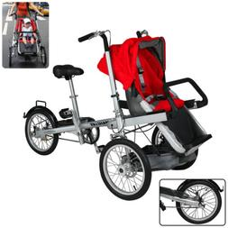 Folding Multi-Functional Baby Care Bike with Strength Alloy