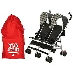 JL Childress Gate Check Bag for Single & Double Strollers fo