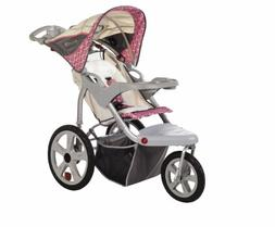 InSTEP Grand Safari Swivel Single Jogging Stroller