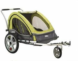 InStep Sierra Double Child Carrier Bicycle Trailer, 2-Passen