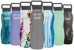 Healthy Human Insulated Stainless Steel Water Bottle Curve -