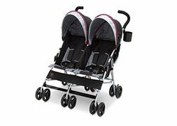 J is for Jeep Brand Scout Double Stroller, Lunar Burgundy /