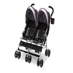 J Is For Jeep Brand Scout Double Stroller, Lunar Burgundy So