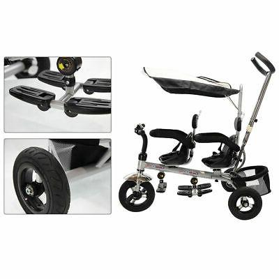 4 1 Twins Kids Stroller Safety Double Seat w/