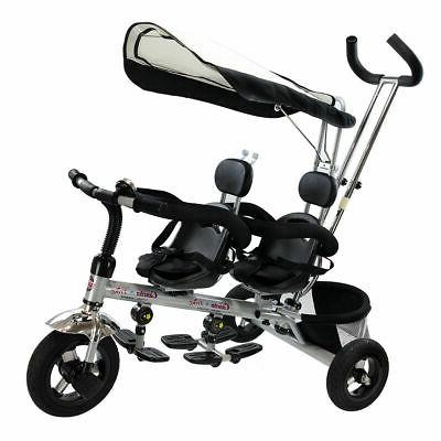 1 twins stroller tricycle safety