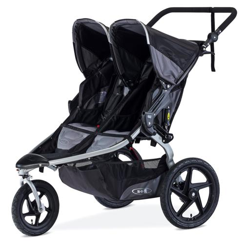 2016 revolution flex duallie jogging stroller black