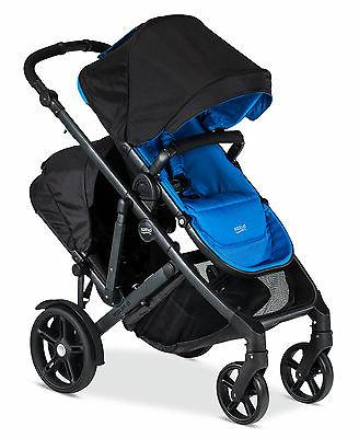 Britax 2017 B-Ready Double Stroller in Capri Brand New!! Wit