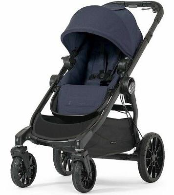 Baby Jogger City Select LUX Single Stroller in Indigo New!