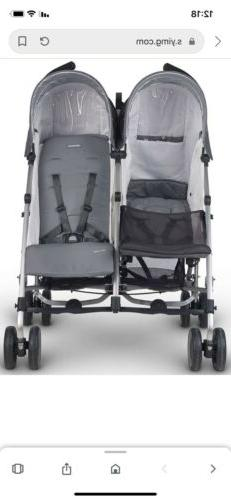 2018 Uppababy Glink Double Stroller In Pascal