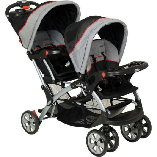 Baby Trend - Sit N Stand Plus Double Stroller, Millennium