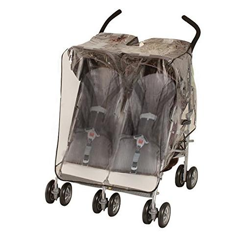 J is for Jeep Side by Side Stroller One Size Weather Shield,