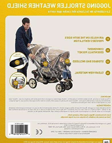 Jeep Double Cover, Stroller Cover, Rain Cover, Double Stroller Accessories, Tandem Stroller Weather Shield, Size, Waterproof,