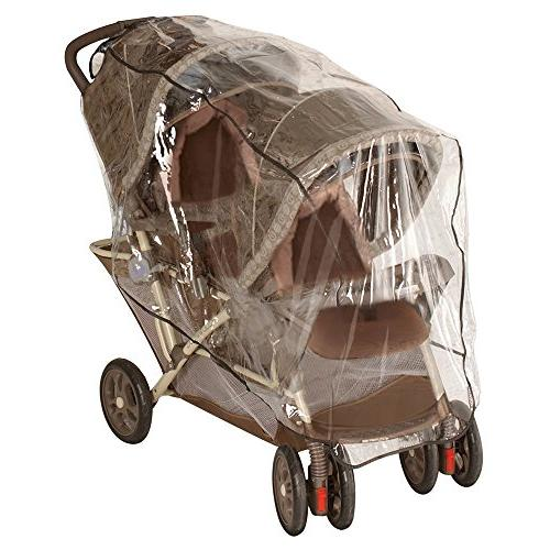 Jeep Stroller Rain Cover, Stroller Cover, Cover, Double Stroller Shield, Universal Size, Windproof