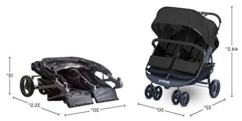 JOOVY Scooter Tray, Charcoal