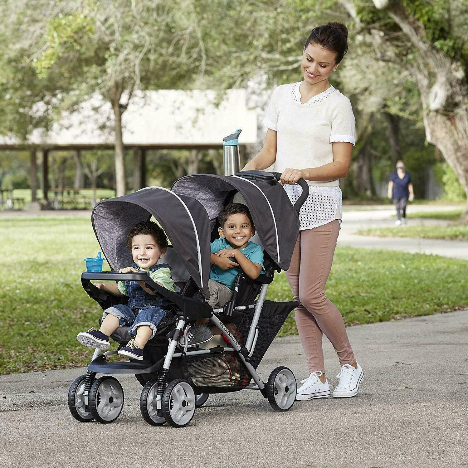 GRACO DOUBLE STROLLER WITH TANDEM