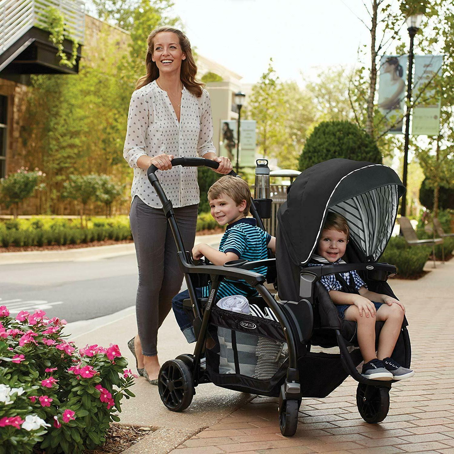 Graco Baby One-Hand Double