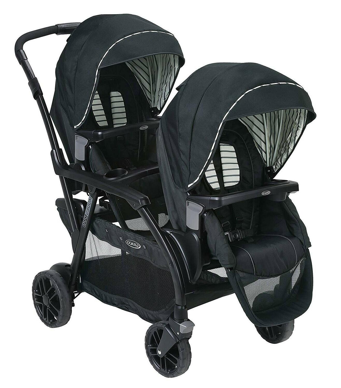 baby modes duo one hand fold twin
