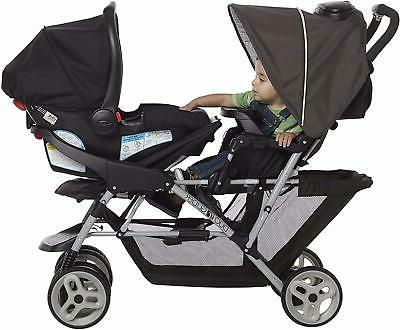 Baby Stroller Glider Double Stroller Lightweight Infant Seating
