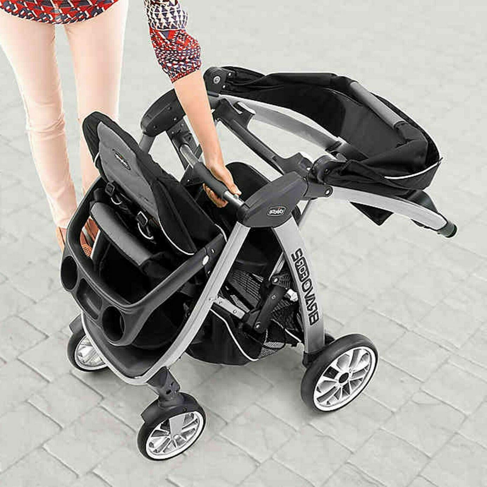 Chicco For2 Stroller Toddler and Stand