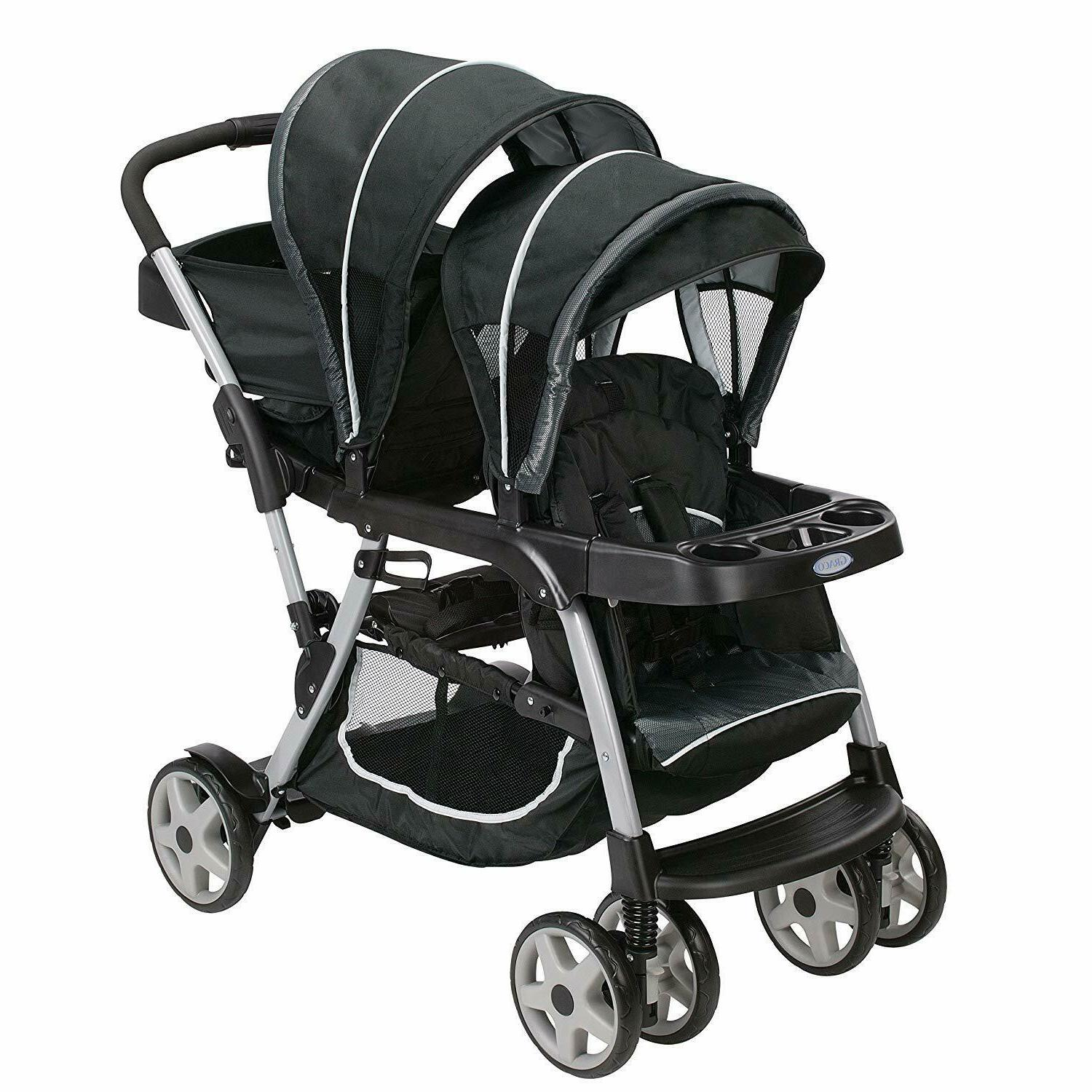 new ready2grow lx double stroller lightweight double