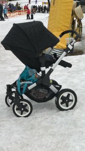 buffalo stroller and bassinet with accesories