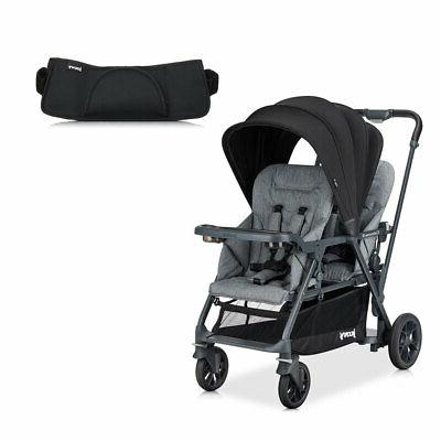 caboose double sit and stand stroller