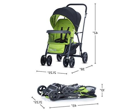 Joovy Caboose Graphite Stand On Stroller,