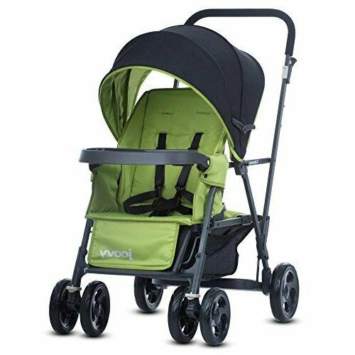 caboose graphite tandem stand stroller