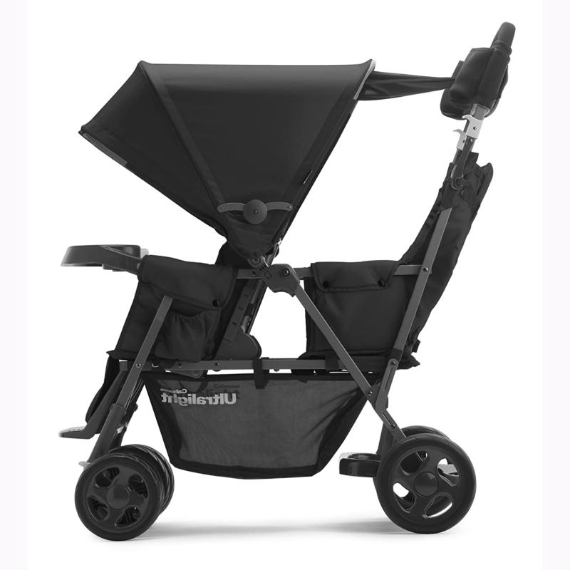 Joovy Caboose Ultralight Graphite Stroller, Stand on Tandem,