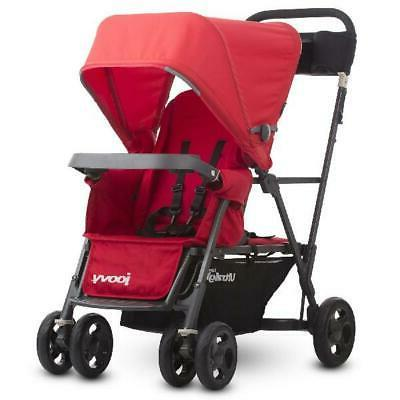 caboose ultralight double stroller red