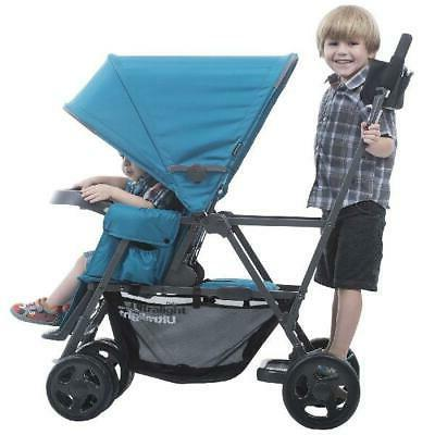 Joovy Caboose Ultralight Sit and Stand Stroller, Turquoise