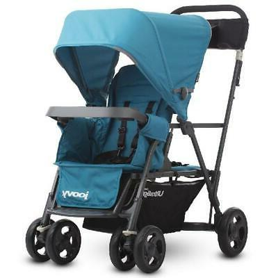 caboose ultralight sit and stand double stroller