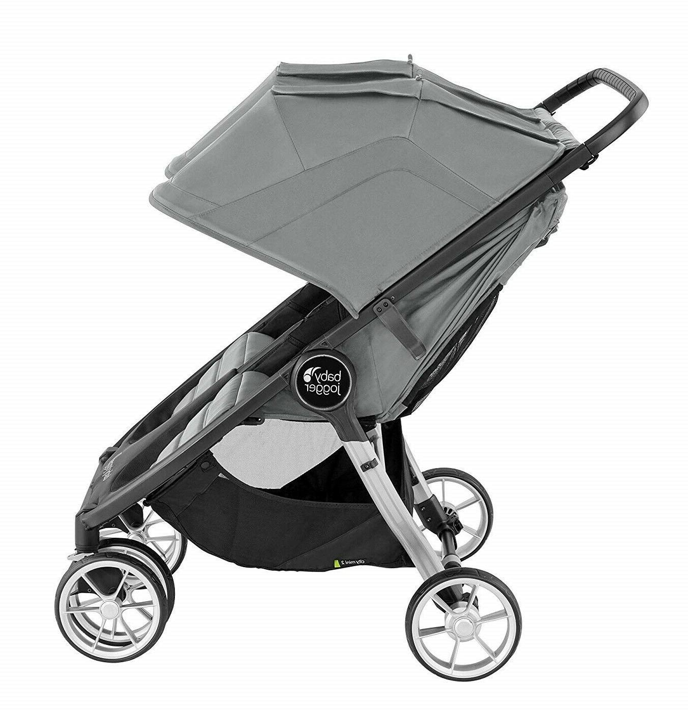 Baby Jogger City 2 Double Stroller Carbon 2020