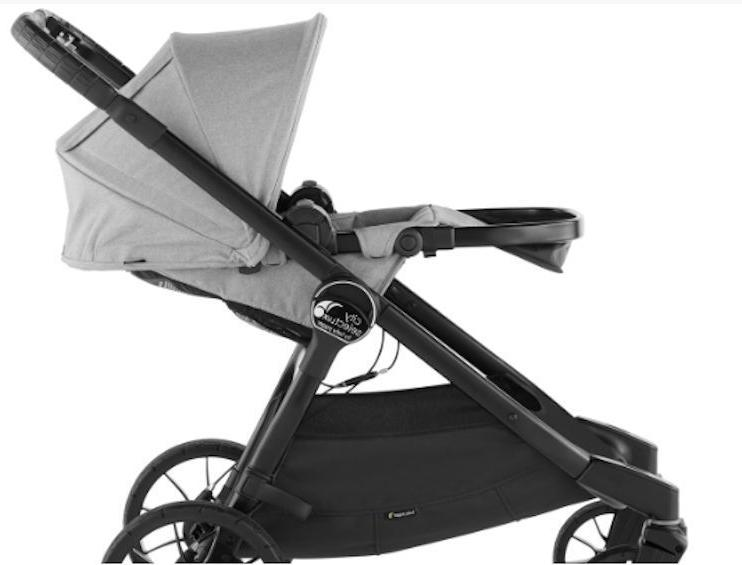 Baby Jogger Lux Stroller w Second 2017 Taupe