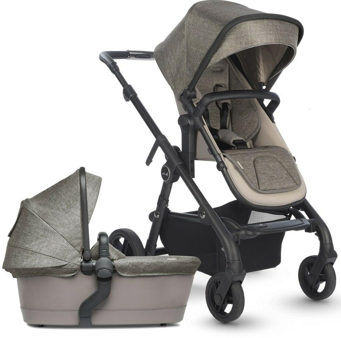 coast single to double pram system baby