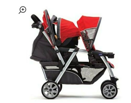 Chicco Cortina Double Stroller,