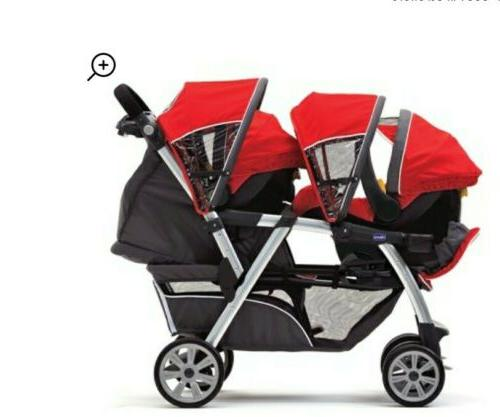 cortina together double stroller ombra