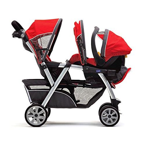 Chicco Cortina Together System Double Stroller KeyFit
