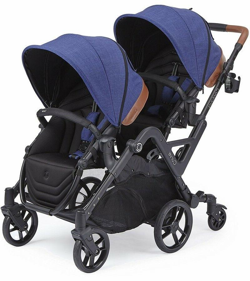 curve tandem double stroller