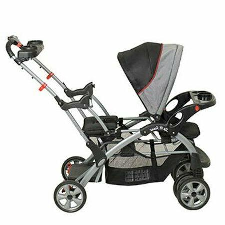 Double Baby Stroller Twin City Tandem Infant Car
