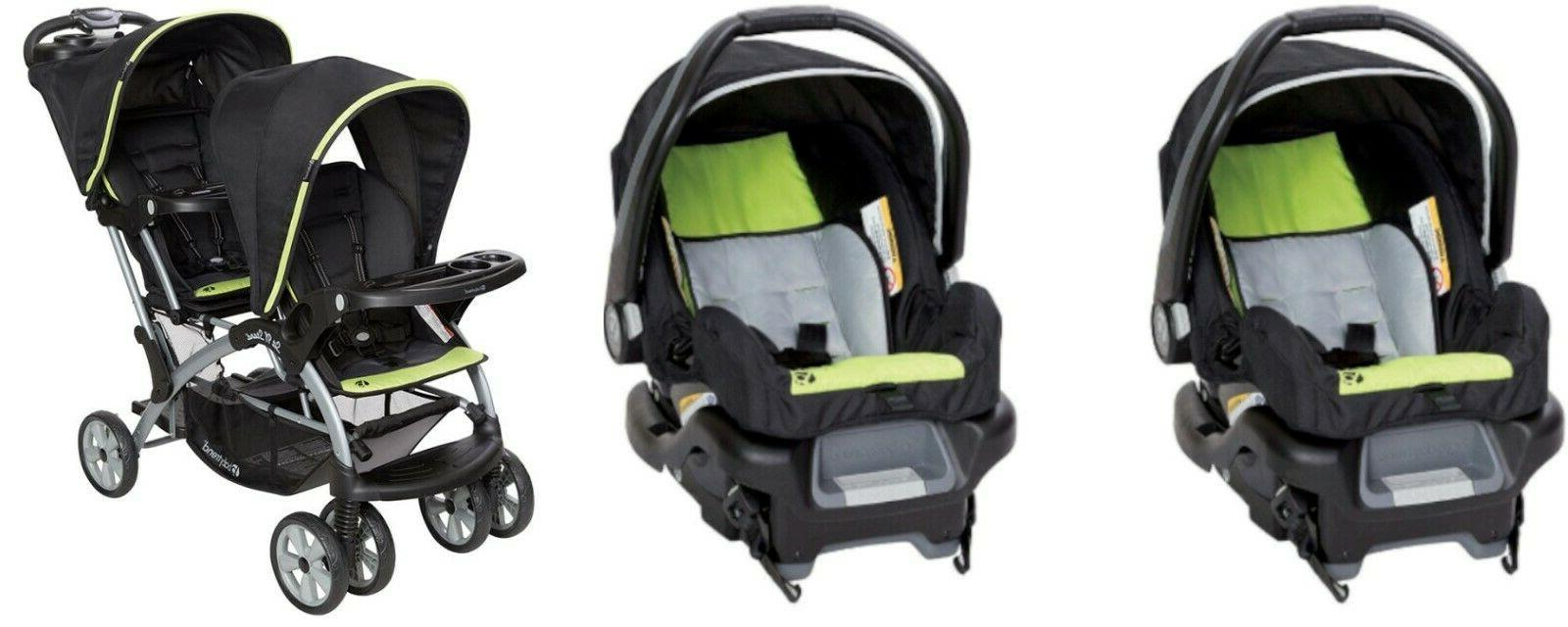 double sit n stand toddler and baby