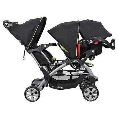 Baby Trend N' Stand Toddler and Baby System, Optic Green