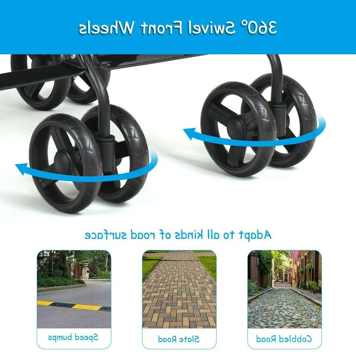 Double Stroller For And Toddler Twin Baby