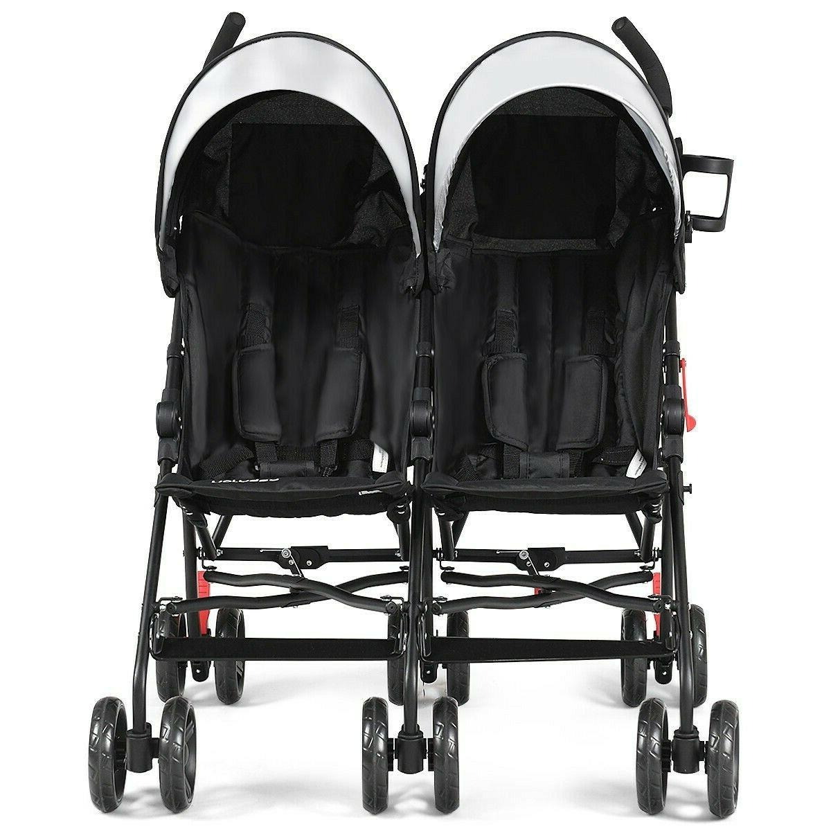 Double Stroller And Toddler Baby Lightweight