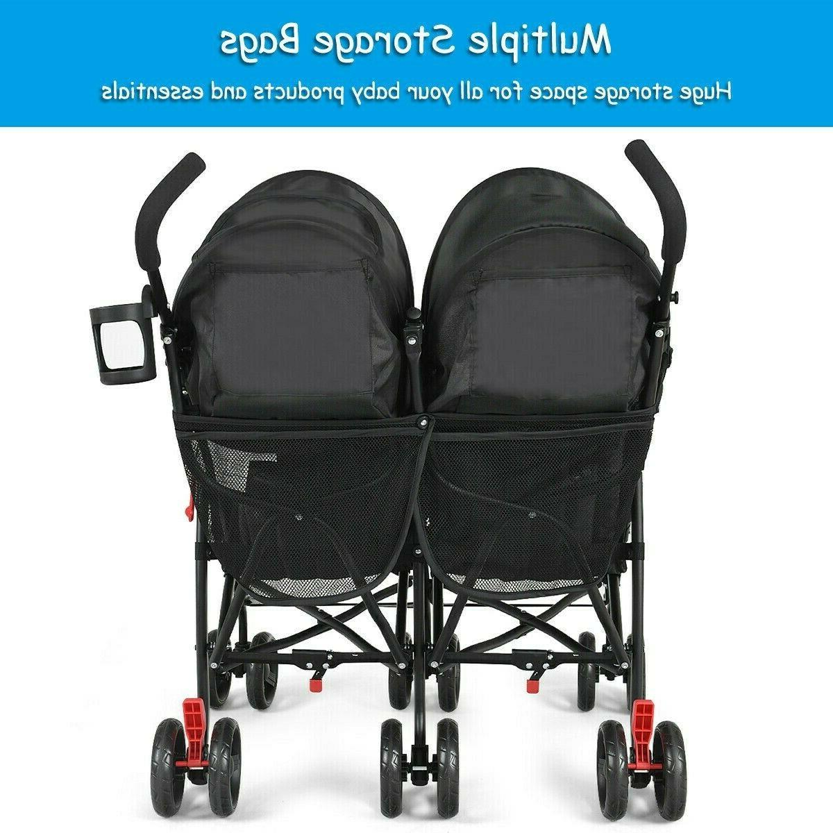 Double Stroller And Tandem Baby