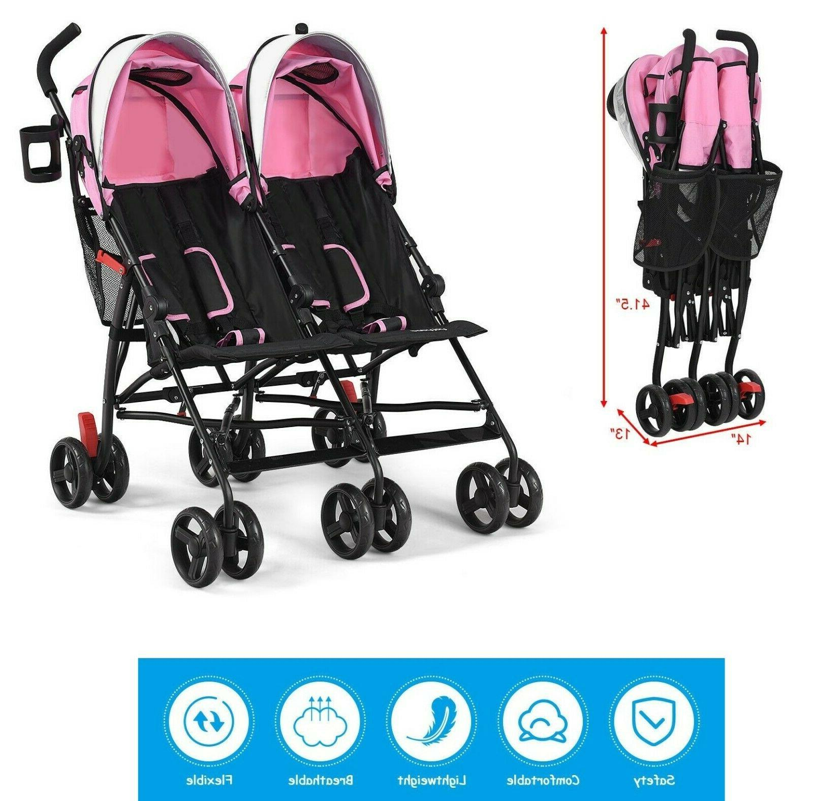 double stroller for infant and toddler tandem