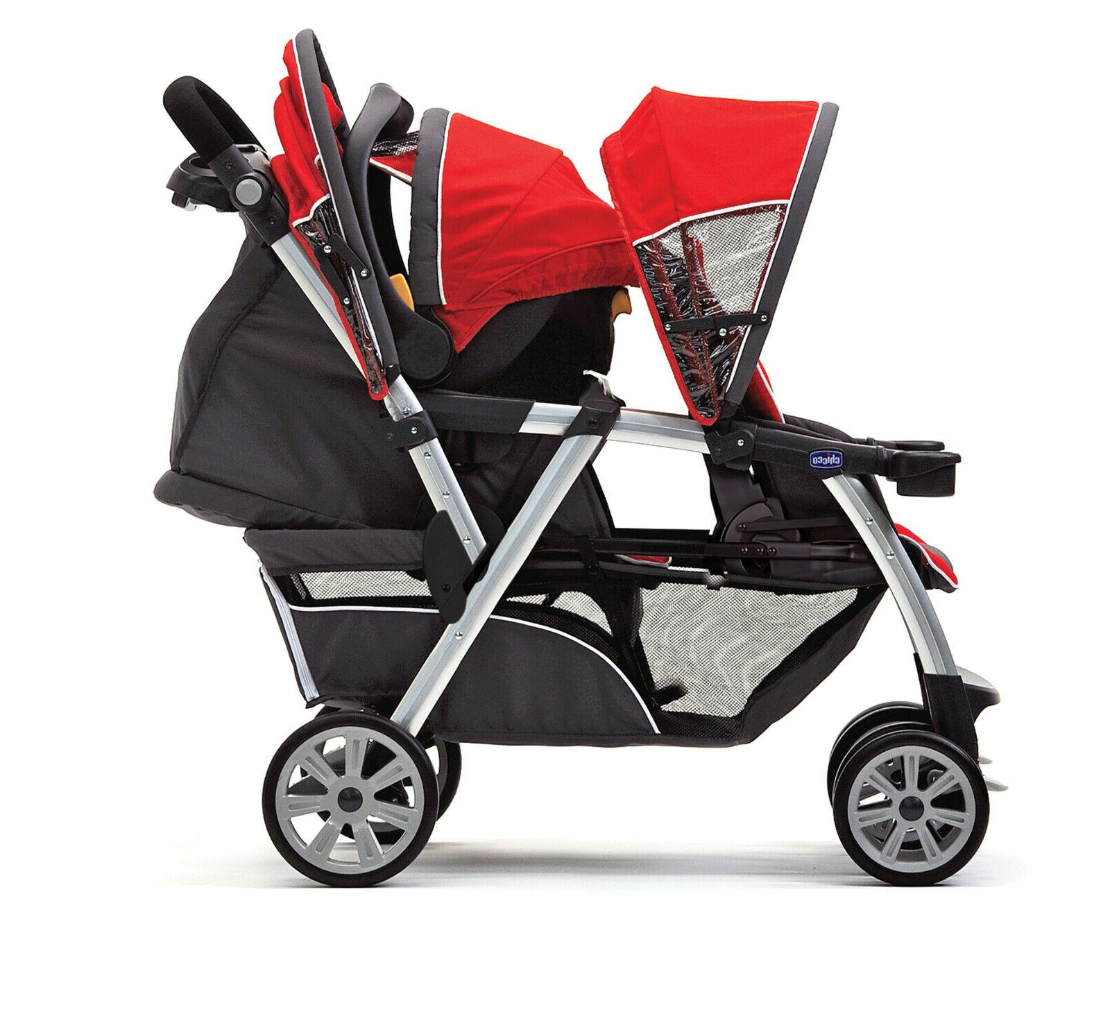 Double Stroller Chicco Together Quality New