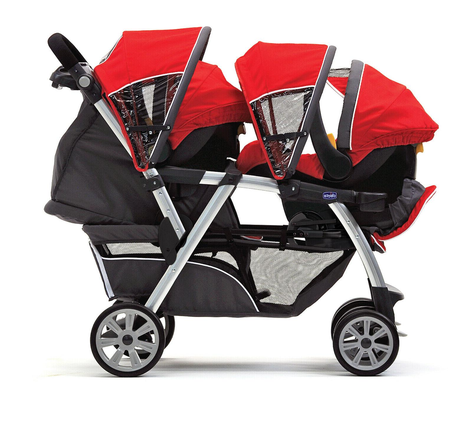 Double Stroller Chicco Together Quality
