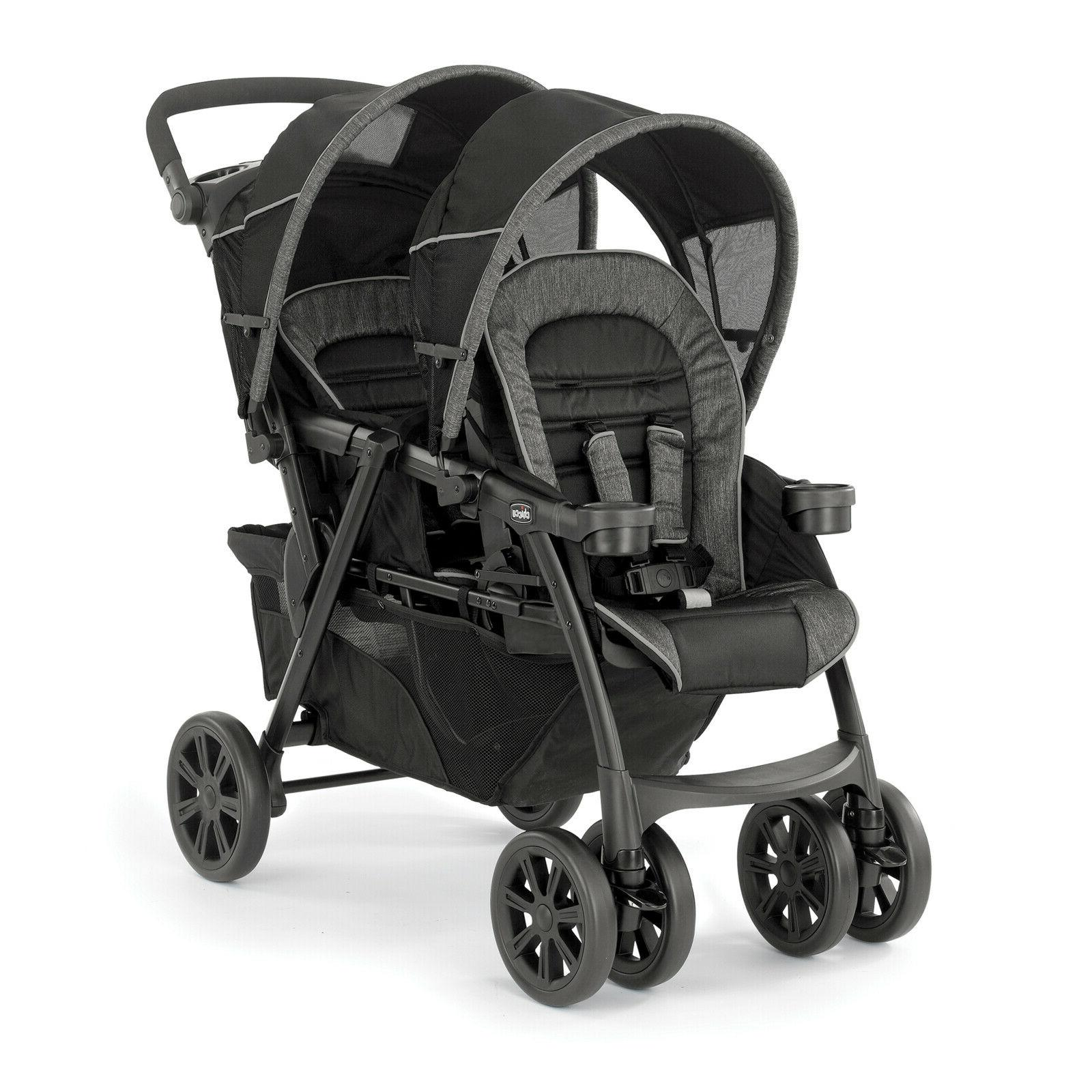 double stroller minerale unisex cortina together top